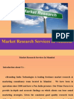 Market Research Services In Mumbai.