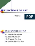 functions of art