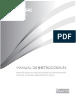 Manual Usuario Hisense RD-46WC4SBA-CPA2