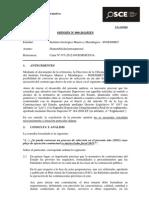 009-13 - PRE - InGEMMET Disponibilidad Presupuestal TD 2295805