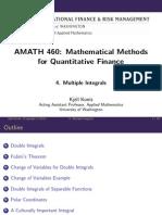 Mathematicalmethods Lecture Slides Week4 MultipleIntegrals