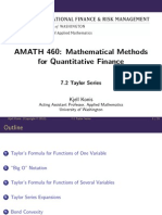 Mathematicalmethods Lecture Slides Week7 2 TaylorSeries