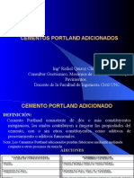 Cementos Portland Adicionados RQ