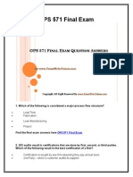 OPS 571 Final Exam Latest University of Phoenix