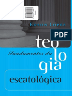 Fundamentos Teologia Escatologica Low