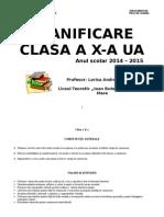 PLANIFICARE LB ROMANA a X-A RO 3
