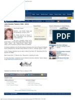 Julie Teeters Obituary