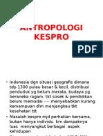 ANTROPALOGI & KESPRO 8
