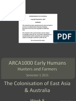 ARCA1000 2015 Week 8 Lecture Notes