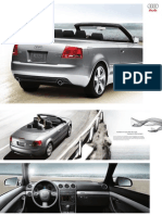 Audi A4 2009 Misc Documents- Convertible Brochure