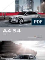 Audi A4 2012 Misc Documents-Brochure