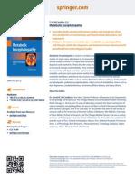 3. McCandless DW. Metabolic Encephalopathy