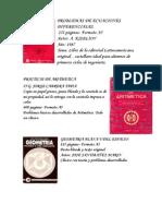 Tercera Subasta en PDF