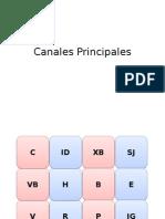 Canales Principales
