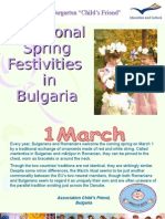 3 Spring Festivities