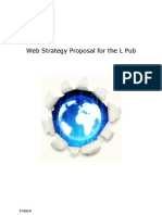 Web Strategy Proposal