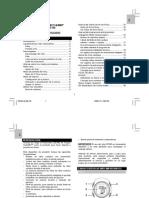 PULSOMETRO SE-190 Instrucciones