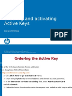 Active Key Cookbook