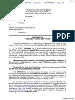 Taylor v. Capital Management Services, Inc. - Document No. 4