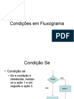 5- Algoritmos - Condições Em Fluxograma