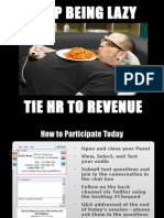 Chequed_FOT Webinar - Stop Being Lazy - Tie HR to Revenue - FINAL
