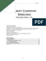 Albert Champdor - Babilonia