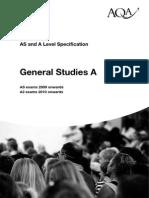 General Studies a 2009 AQA