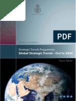 Global Strategic Trends Programme 2040
