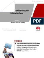 Huawei Gsm Rru3008 Introduction 090420 Issue1.0 b