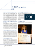 ERC+Newsletter+June+2015+-++Interview+with+the+5th+grantee