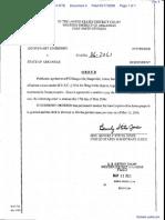 Lineberry v. State of Arkansas - Document No. 4