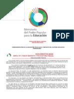 Programas de 1ro a 5to Año de Educación Media General