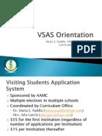 VSAS Orientation