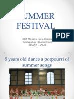 Summer Festival 2014