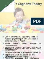 Vygotsky's Cognitive Theory