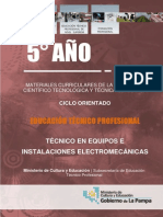 Setp - Técnico en Equipos e Instalaciones Electromecánicas - 5to