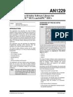 Microchip Safety Software Library IEC Class B