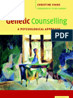 Evans Genetic Counselling-A Psychological Approach