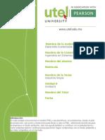 Desarrollo Sustentable Unidad 6