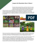 Vantagens E Desvantagens Do Playstation Move E Kinect Xbox