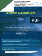 Economia Da Engenharia 1 - Tópico 9