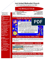 Newsletter July-August 2015