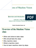 Machine Vision Overview and Introduction