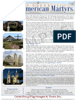 Pilgrimage to the North American Martyrs | Canterbury Pilgrimages