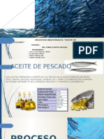 Aceite de Pescado Proceso