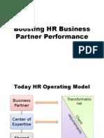 Boosting HRBP Performance