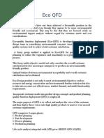 Eco QFDpresentation