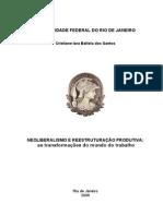 [p. 21-62] Introdutório - Neoliberalismo e Reestruturação Produtiva e