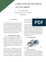 Informe Avance Tecnologio en Los Autos (1)