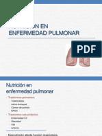14 Nutrición en Enfermedad Pulmonar